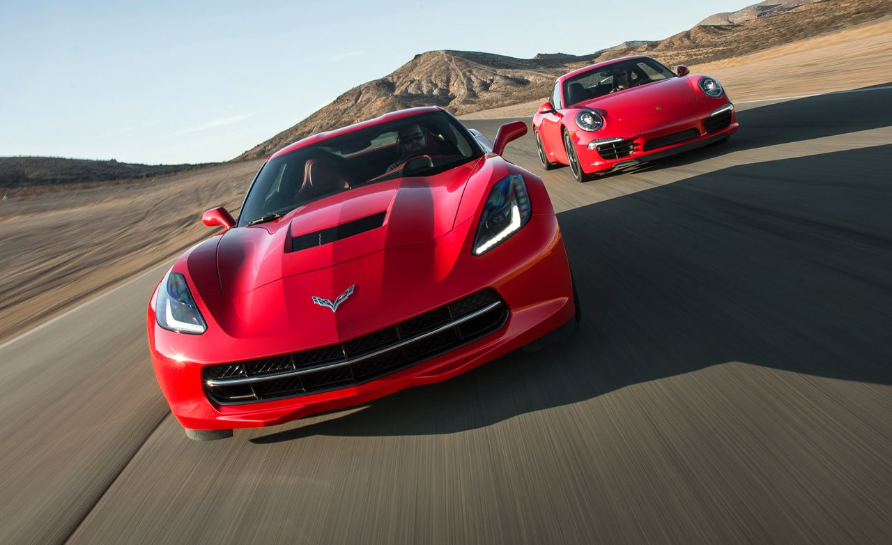 2014 Chevrolet Corvette Stingray Z51 vs. 2014 Porsche 911 Carrera S | Comparison Test