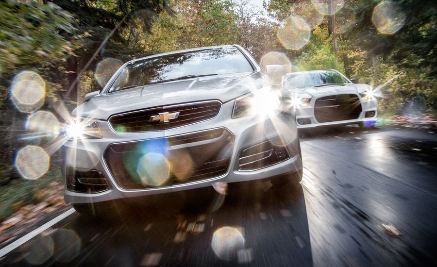 2014 Chevrolet SS vs. 2013 Dodge Charger SRT8 392