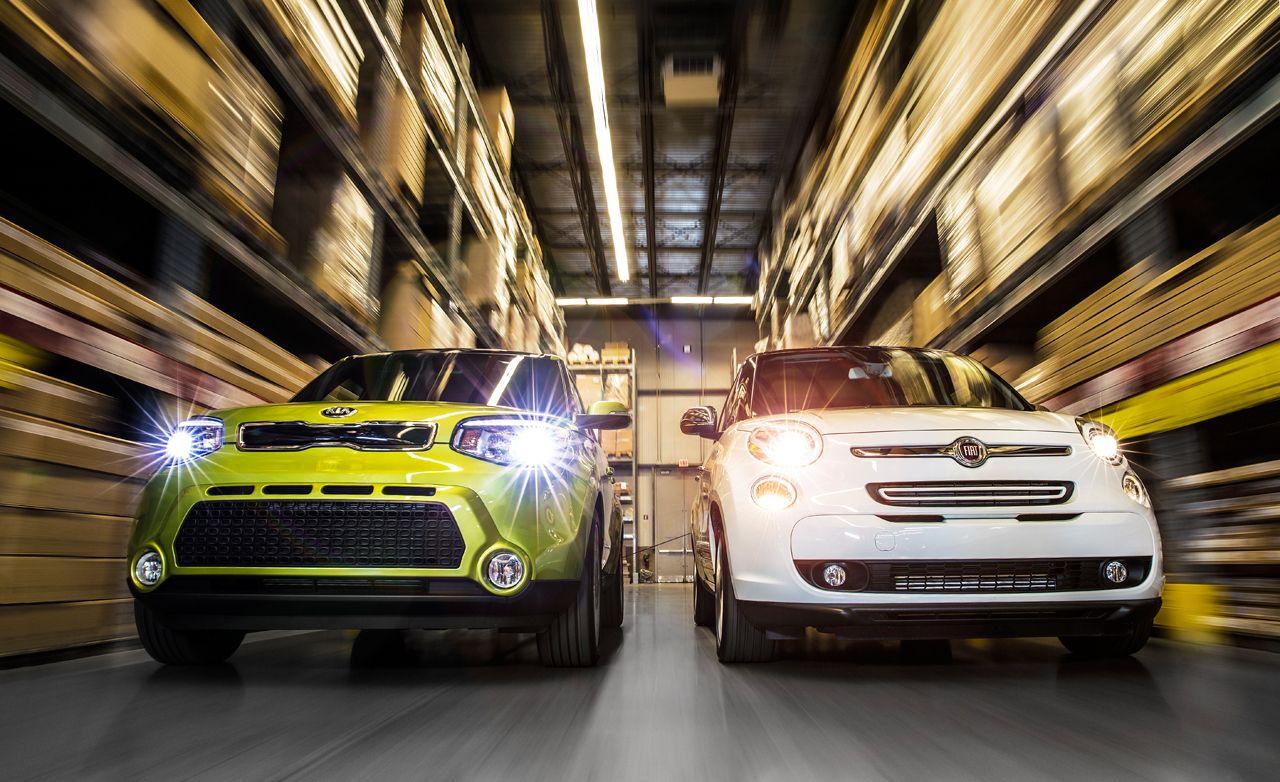 2014 Fiat 500L Lounge vs. 2014 Kia Soul!