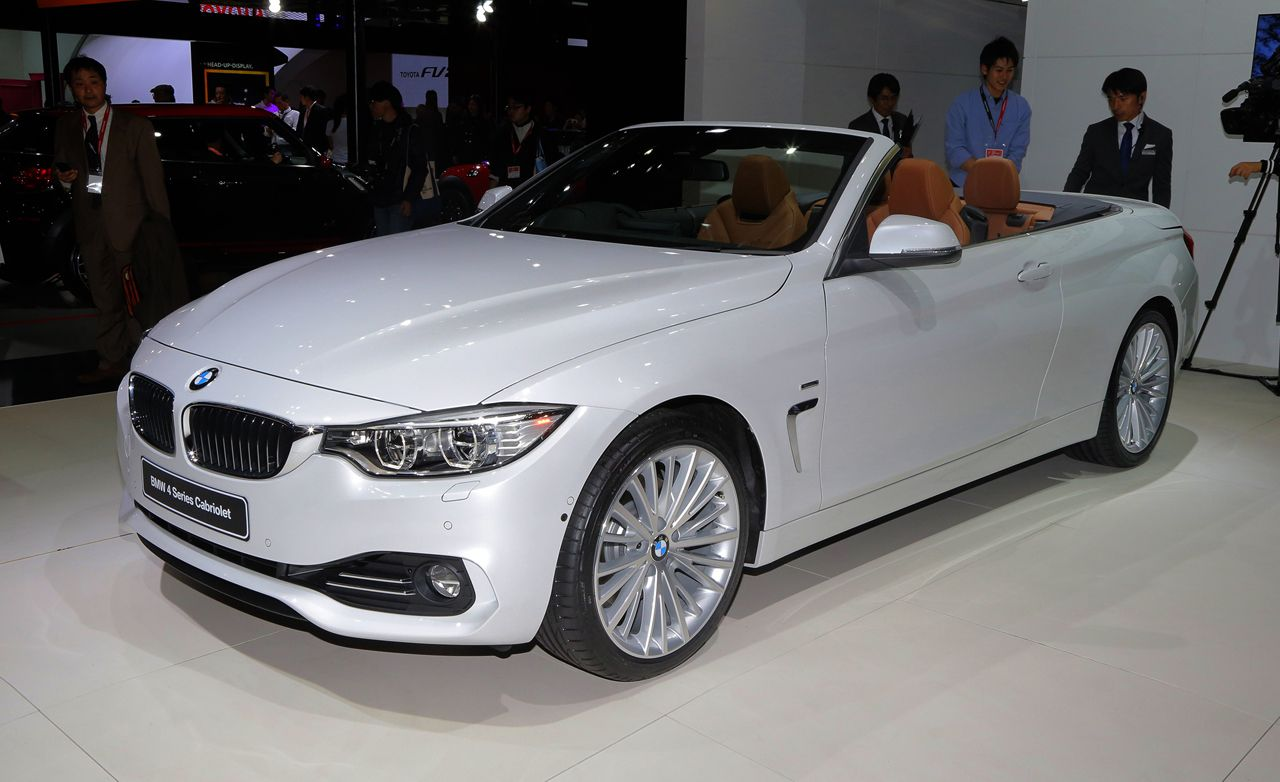 2014 BMW 4-series / 428i / 435i Convertible
