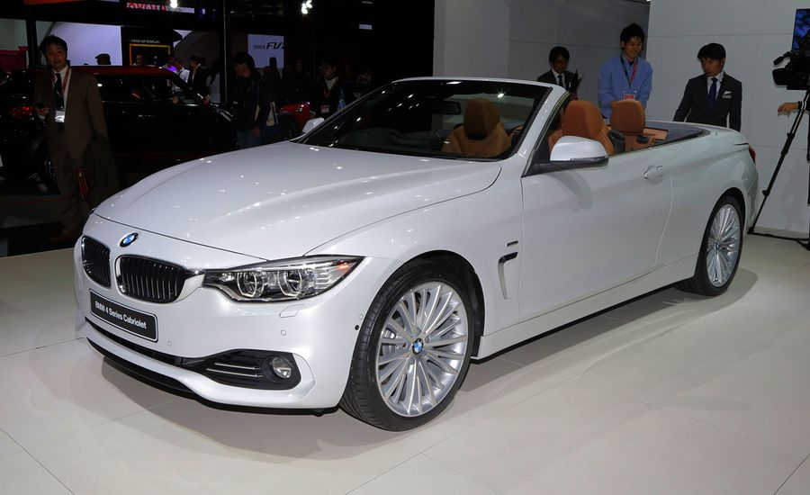 BMW Series Cabriolet Photos And Info News Car And Driver - 428i bmw convertible