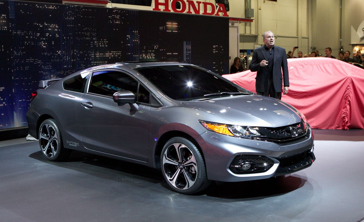 2014 honda civic coupe photos and info news car and driver. Black Bedroom Furniture Sets. Home Design Ideas