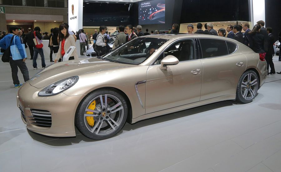 2014 Porsche Panamera Turbo S and Turbo S Executive: More Power, More Length