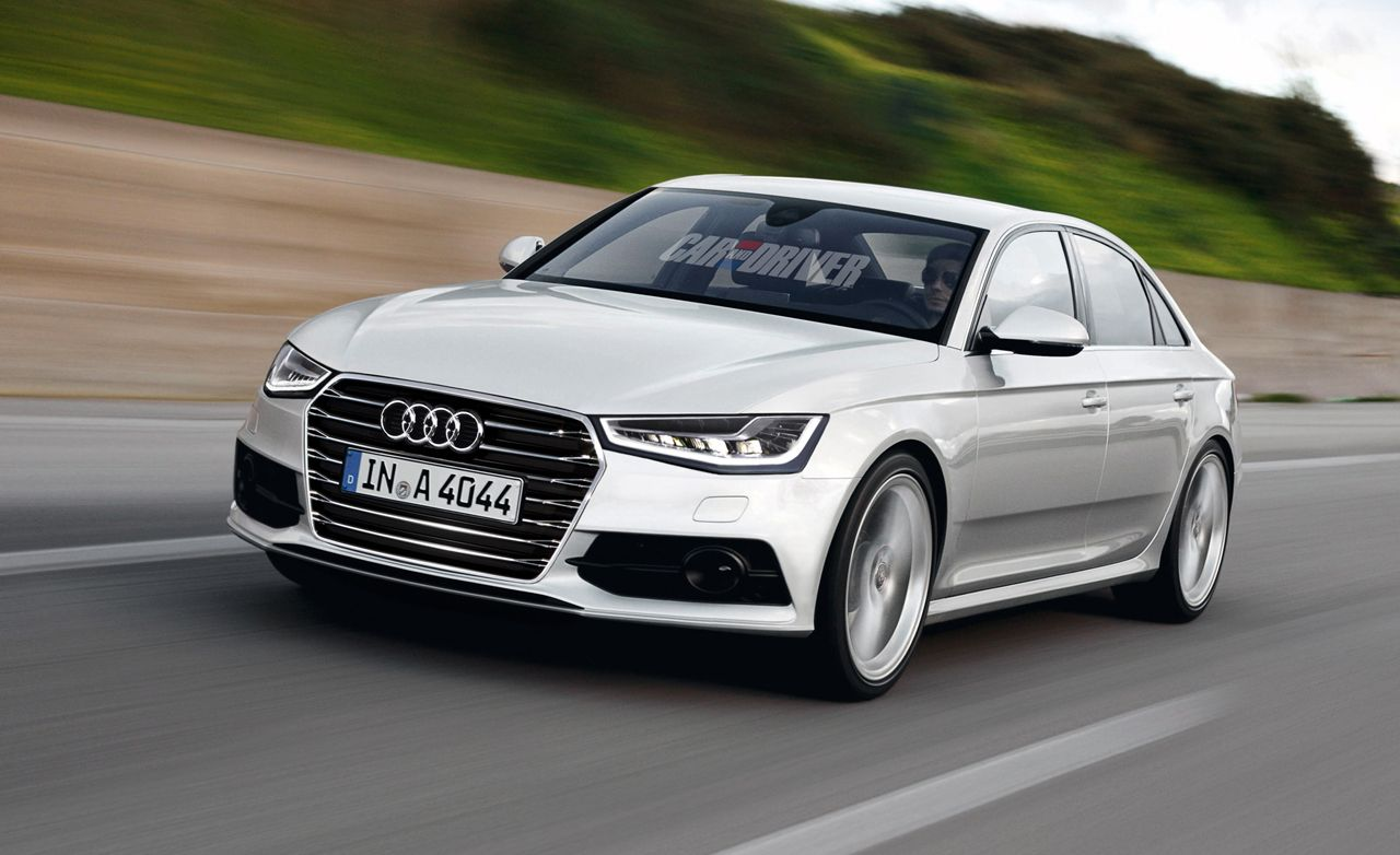 2015 Audi A4 Rendered, Detailed
