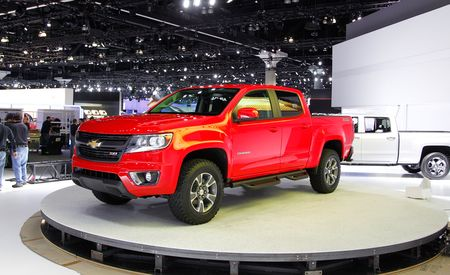 2015 Chevrolet Colorado: GM Gets Back in the (Relatively) Small Pickup Game