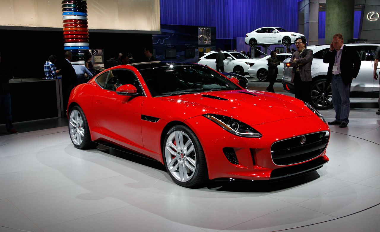 2015 Jaguar F-type Coupe: An All-Aluminum Beauty