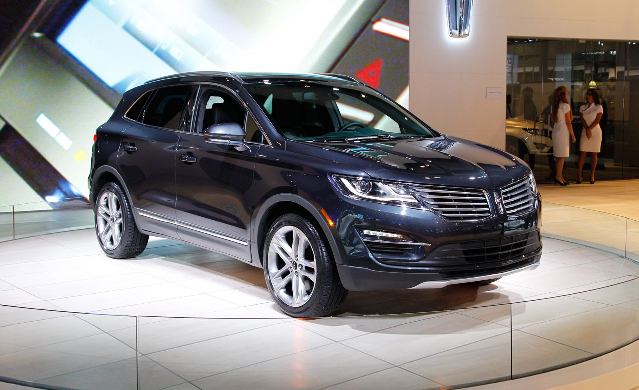 2015 Lincoln MKC: Stylish Sheetmetal, New EcoBoost Engine