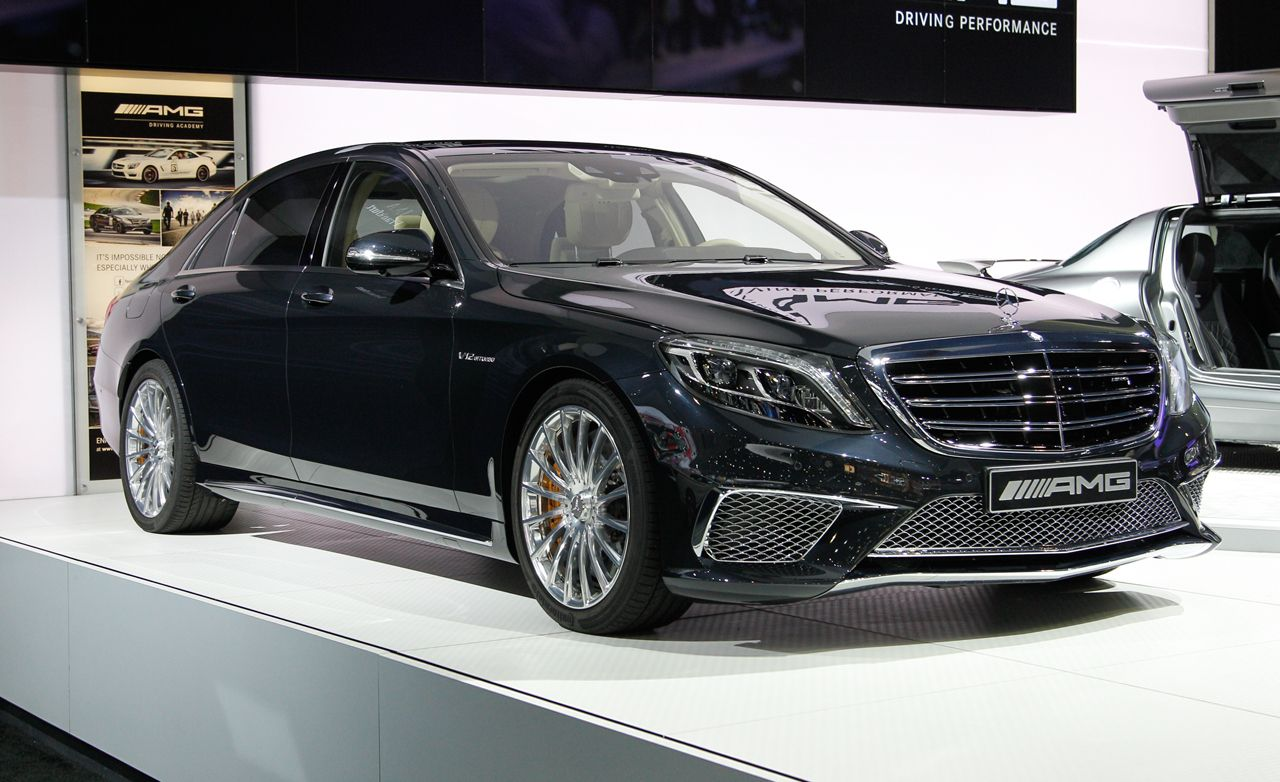 2015 Mercedes Benz S65 Amg Photos And Info News Car