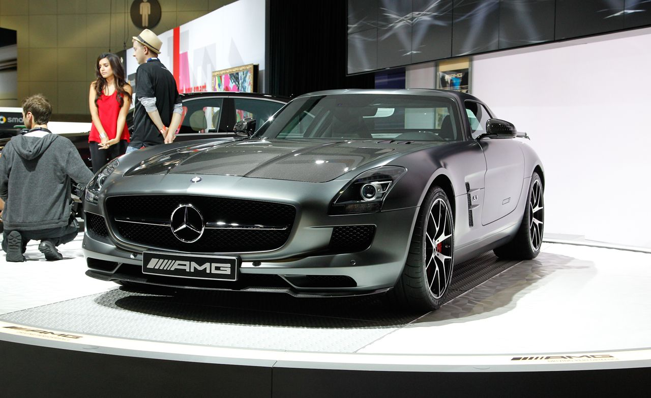 2017 Mercedes Benz Sls Amg Gt Final Edition