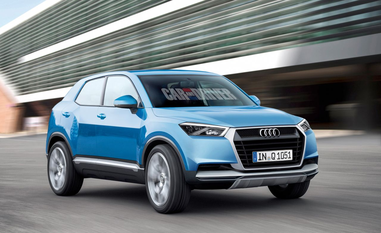2016 Audi Q1 Rendered and Detailed
