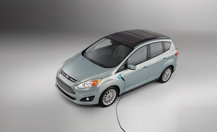 Ford C-Max Solar Energi Concept: Using Centuries-Old Tech to Give Future Tech a Boost