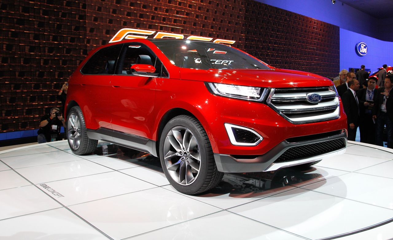Ford edge concept all about the gadgets