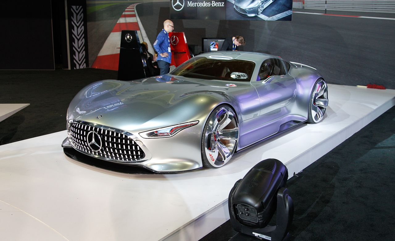 Mercedes Benz AMG Vision Gran Turismo Concept Comes From The Best Future