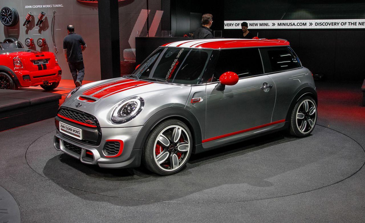 Mini John Cooper Works Concept Auto Shows Car And Driver