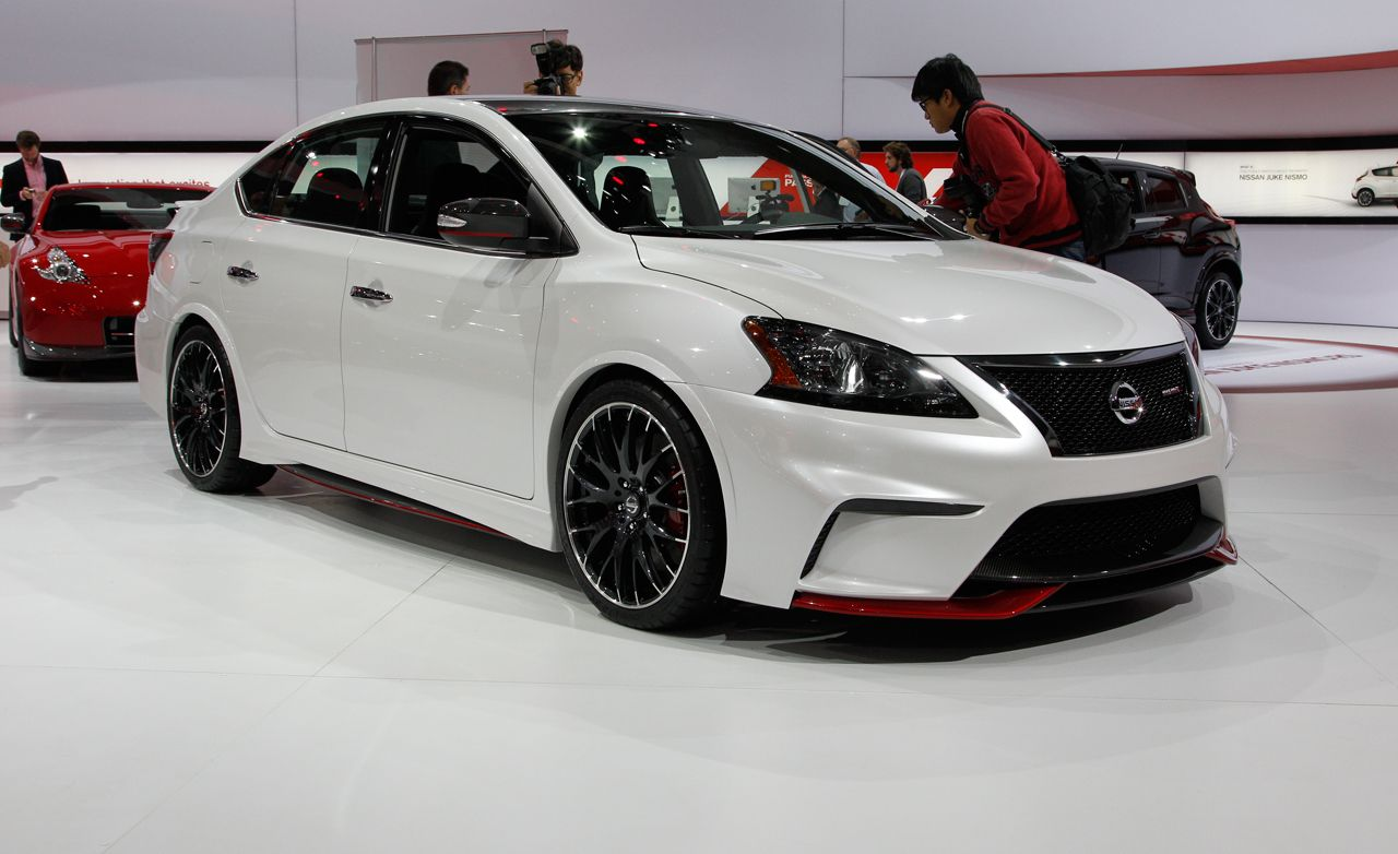 nissan sentra nismo concept news car and driver. Black Bedroom Furniture Sets. Home Design Ideas