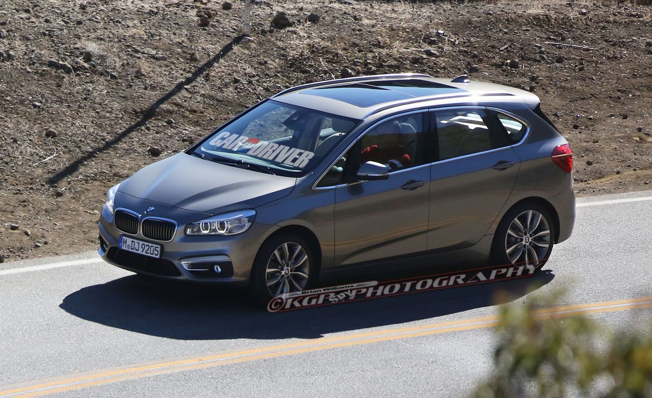 2015 BMW 2-series Active Tourer Spied Undisguised