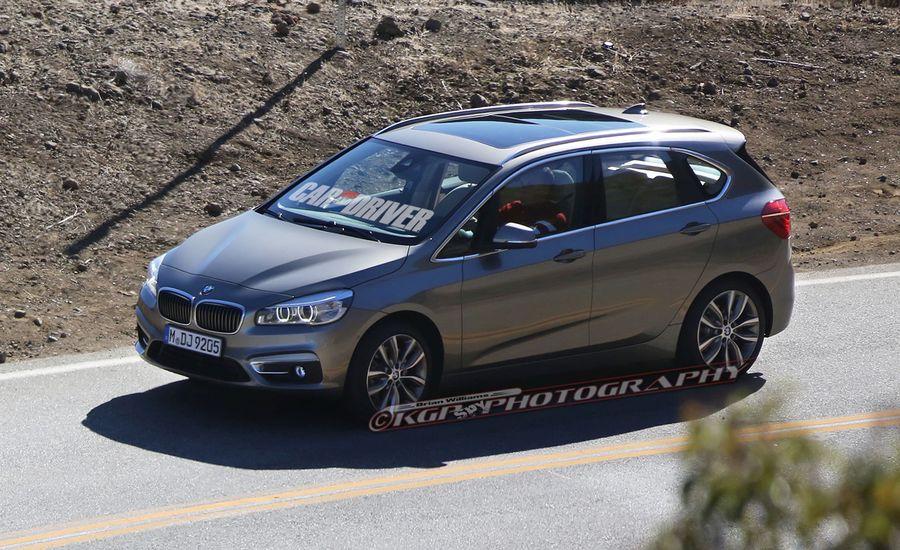 2015 BMW 2-series Active Tourer Spied Undisguised