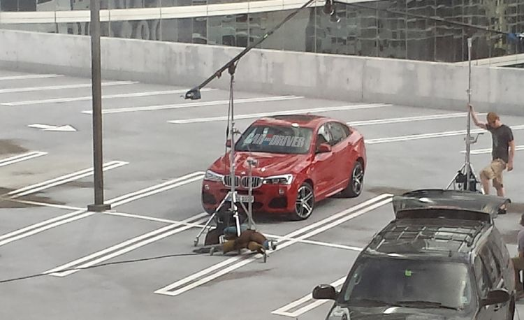 2015 BMW X4 Spy Photos: Filling a Smaller Niche, Literally
