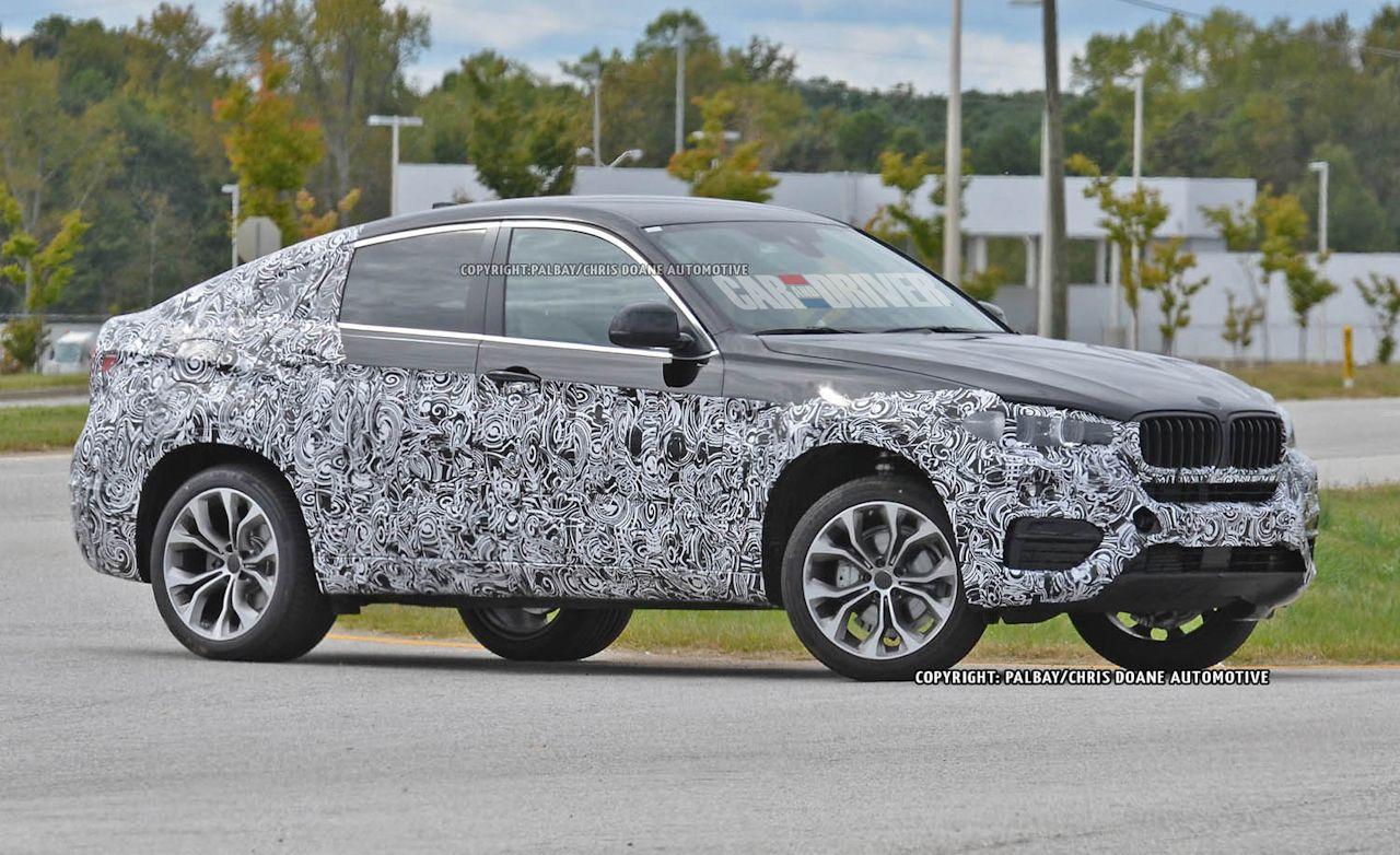 2015 BMW X6 Spy Photos: Reinterpreted But Still Familiar
