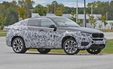 2015 BMW X6 Spy Photos: Reinterpreted But Still Familiar
