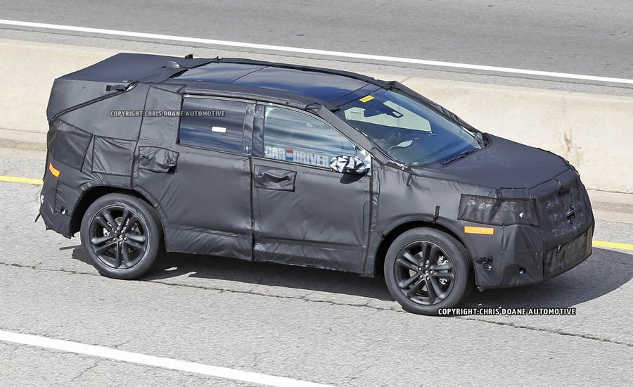 2015 Ford Edge Spy Photos