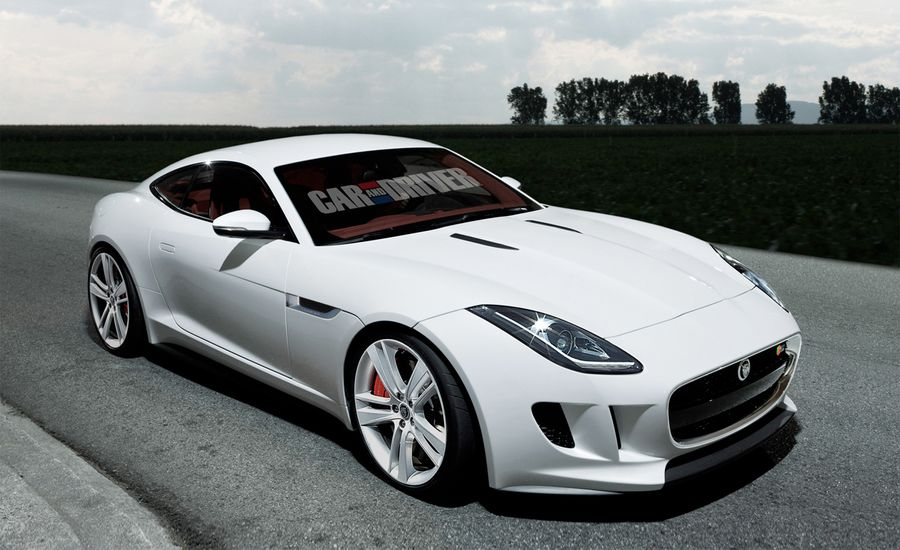2015 jaguar f type coupe rendered and detailed news car and driver. Black Bedroom Furniture Sets. Home Design Ideas