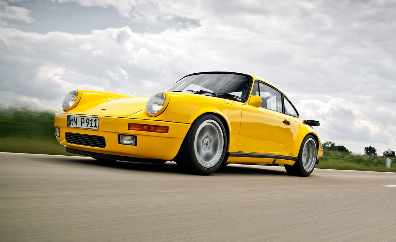 1987 Ruf Ctr Yellowbird 911 Turbo Driven Video Feature