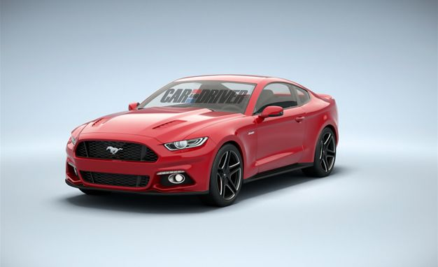 Leaked! This is Almost Definitely the 2015 Ford Mustang: Exclusive 360º View and Full Details!