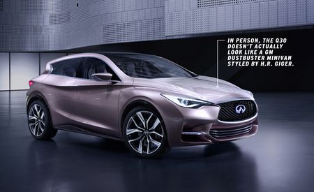 Dissected: Infiniti Q30 Compact Hatchback Concept