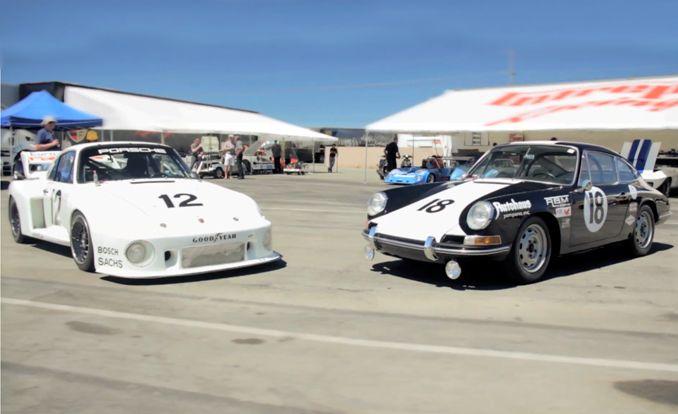 First Winning Porsche 911 Racer Meets Last Werks 935