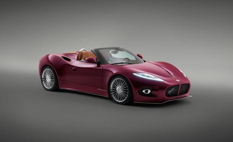 Up Close: Spyker B6 Venator Spyder Concept