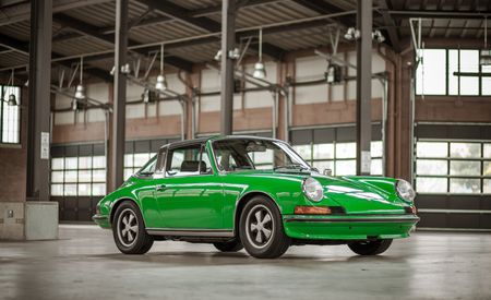 Up Close: 1973 Porsche 911E Targa