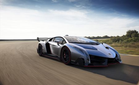 Up Close: Lamborghini Veneno