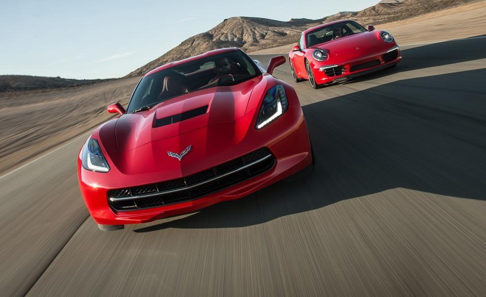 2014 chevrolet corvette stingray z51 vs 2014 porsche 911 carrera s