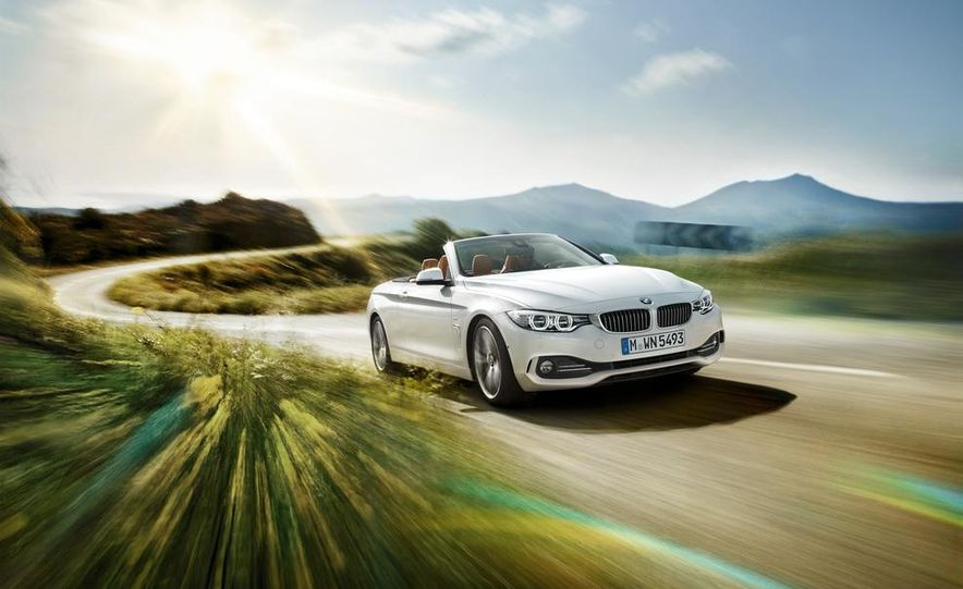 2014 BMW 428i Luxury Line convertible - Slide 35