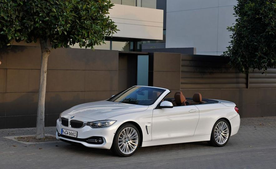 2014 BMW 428i Luxury Line convertible - Slide 45