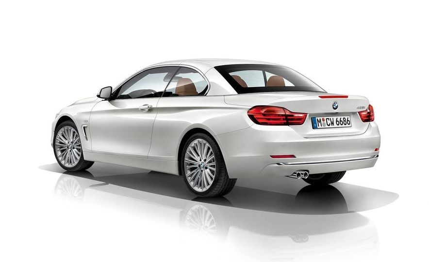 2014 BMW 428i Luxury Line convertible - Slide 53