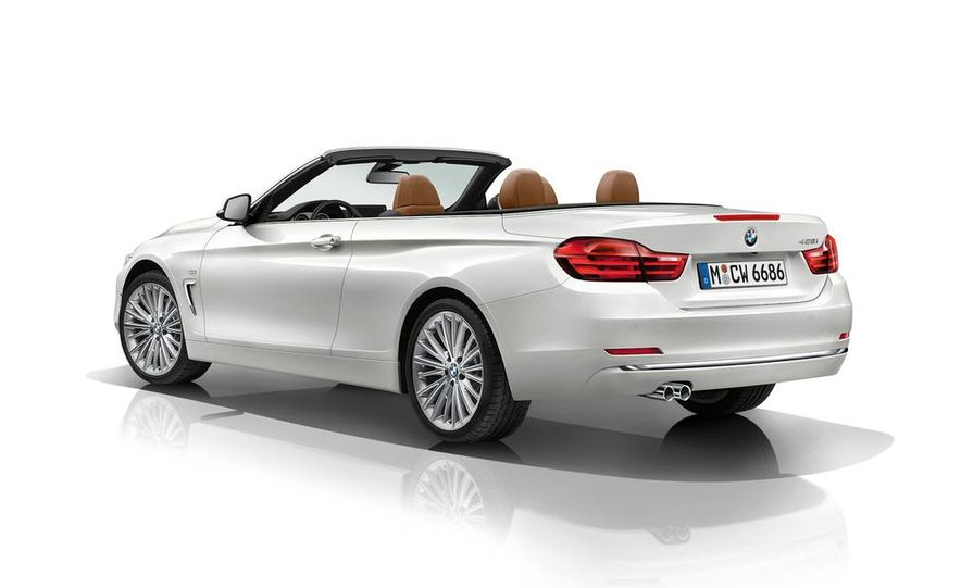 2014 BMW 428i Luxury Line convertible - Slide 54