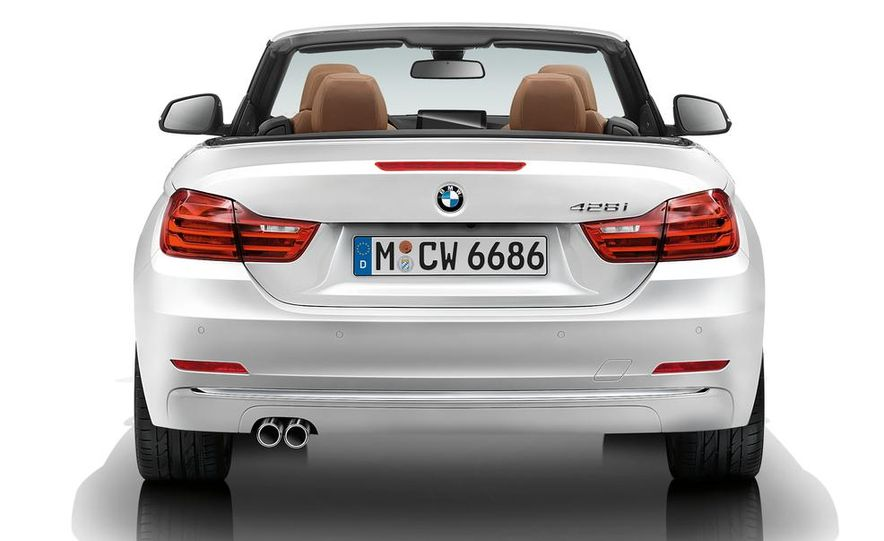 2014 BMW 428i Luxury Line convertible - Slide 58