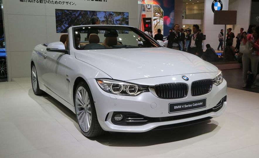 2014 BMW 428i Luxury Line convertible - Slide 1