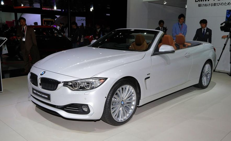 2014 BMW 428i Luxury Line convertible - Slide 3