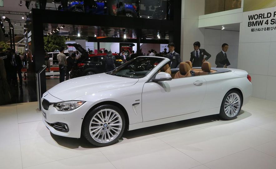 2014 BMW 428i Luxury Line convertible - Slide 4