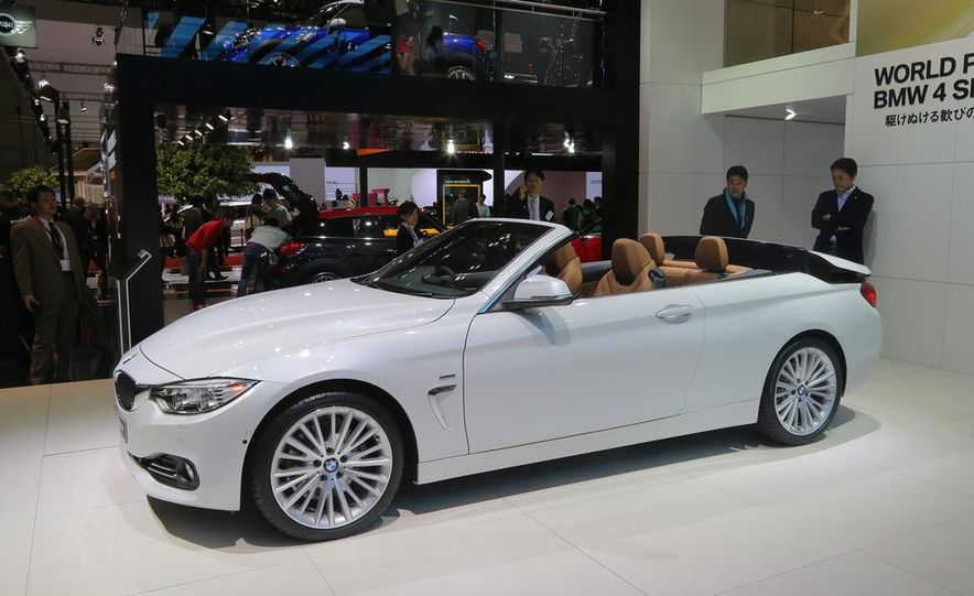 2014 BMW 428i Luxury Line convertible - Slide 5
