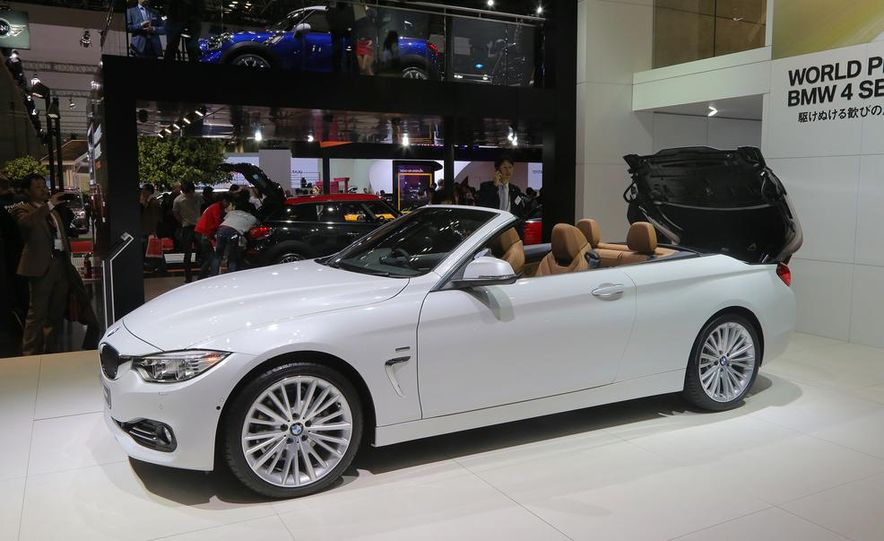 2014 BMW 428i Luxury Line convertible - Slide 6