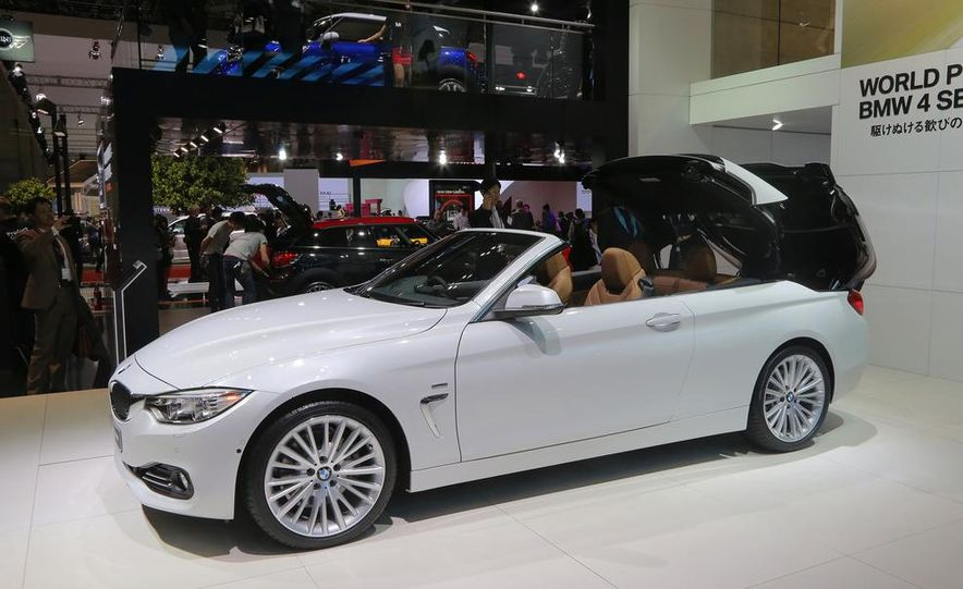 2014 BMW 428i Luxury Line convertible - Slide 7