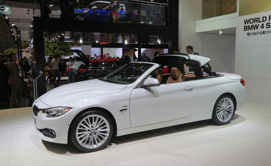 2014 BMW 428i Luxury Line convertible - Slide 8