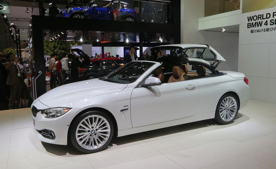 2014 BMW 428i Luxury Line convertible - Slide 9