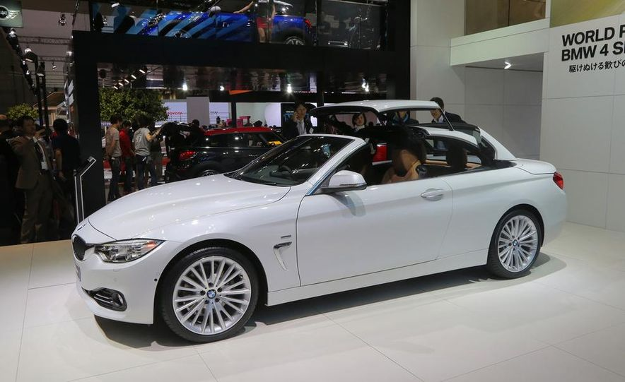 2014 BMW 428i Luxury Line convertible - Slide 10