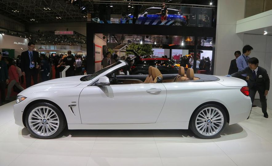 2014 BMW 428i Luxury Line convertible - Slide 12