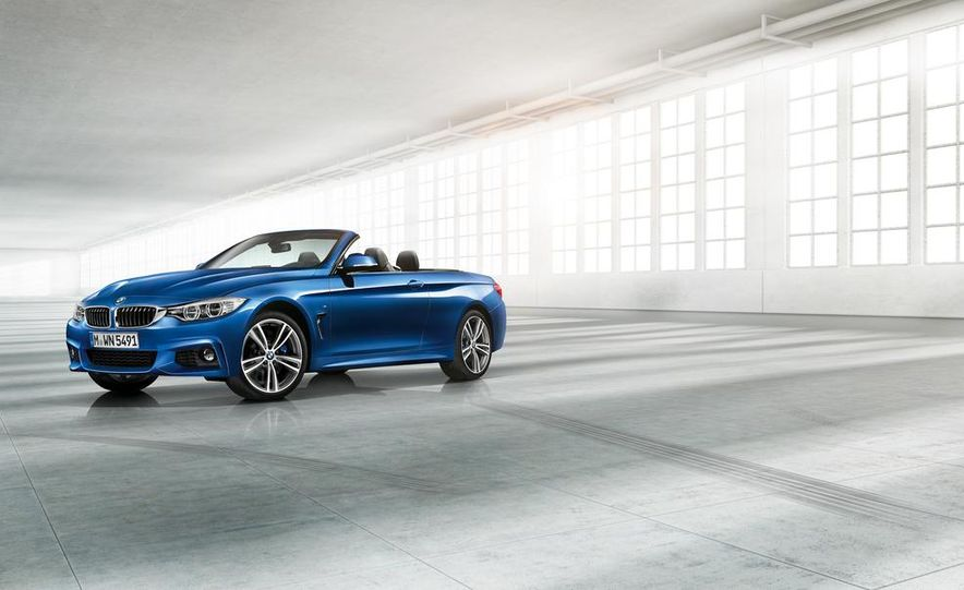 2014 BMW 428i Luxury Line convertible - Slide 15